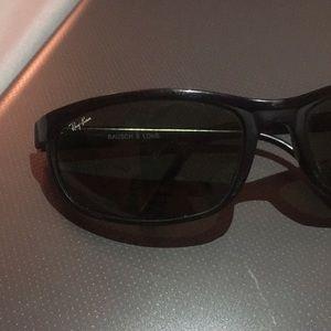Ray Ban black shades original with dust bag